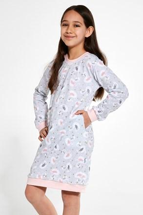 Dievčenská nočná košeľa Swan 3