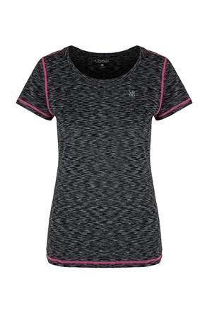 Dámské černé tričko LOAP Madam