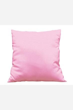 Povlak na polštářek Uni růžový