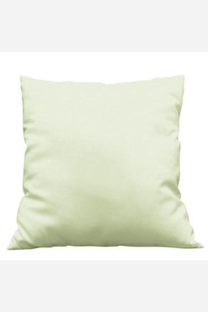 Povlak na dekorační polštářek Uni světle zelený