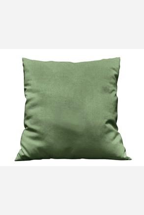 Povlak na polštářek Uni tmavě zelený
