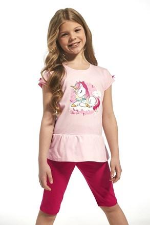 Dívčí bavlněné pyžamo Unique