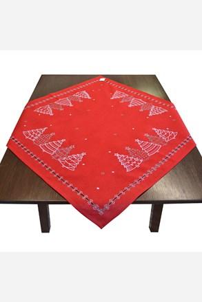 Vánoční ubrus červený