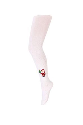 Коледен чорапогащник за момичета Santa