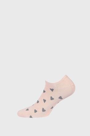Dívčí nízké ponožky Hearts