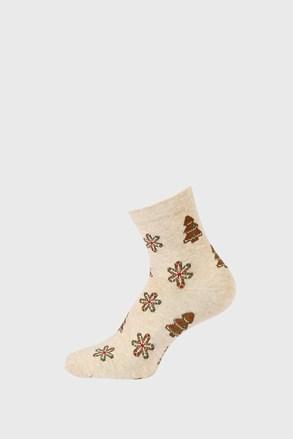 Dětské vánoční ponožky Vločka