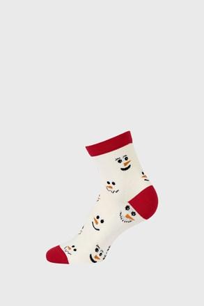 Dětské vánoční ponožky Sněhulák