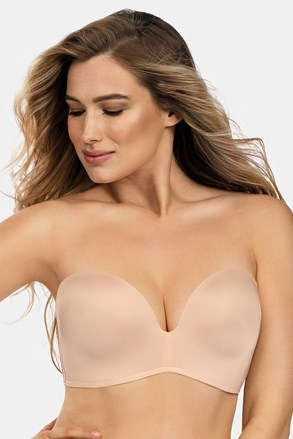 Biustonosz Wonderbra Ultimate Strapless Bardot Double Push-Up bez fiszbin