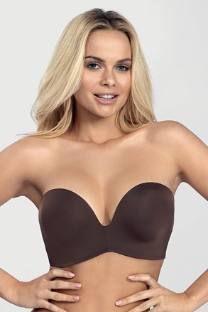 Podprsenka Wonderbra Ultimate Strapless bardot Double Push-Up bez kostic