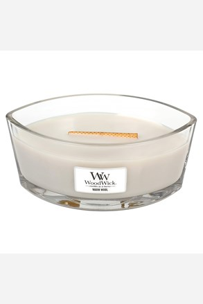 WoodWick svíčka loď Warm Wool