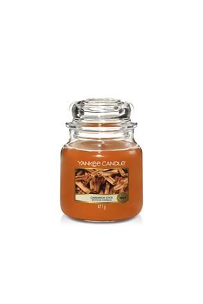 Svíčka Yankee Candle Cinnamon střední