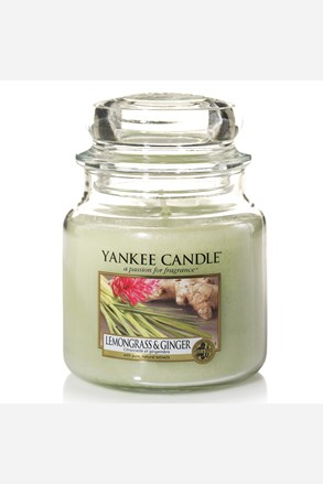 Yankee Candle svíčka Lemongrass Ginger střední