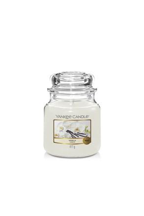 Svíčka Yankee Candle Vanilla střední