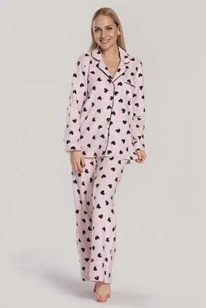 Dámské pyžamo DKNY Festive Beast růžové