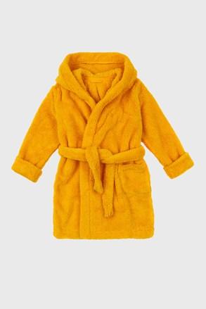 Dívčí župan Simple žlutý