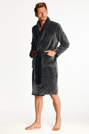Темно-сірий халат Zeus