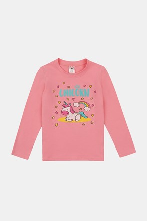 Dívčí tričko Sleeping unicorn