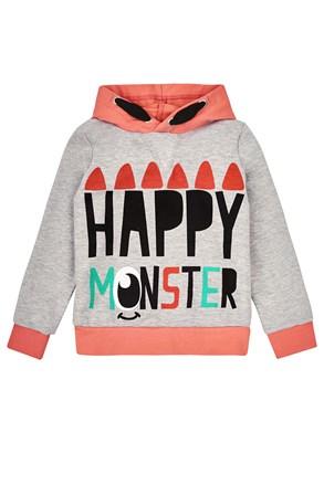 Dívčí mikina Happy Monster