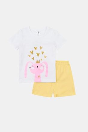 Dívčí svítící pyžamo Rabbit