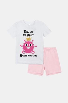 Dívčí svítící pyžamo Monsters