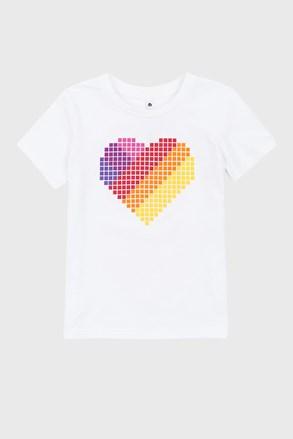 Dívčí tričko Love hearts