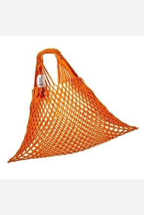 Narancssárga rugalmas hálós táska