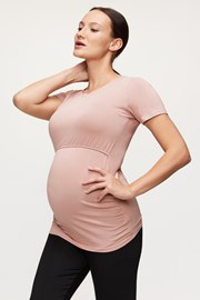 Těhotenské a kojicí triko Mia