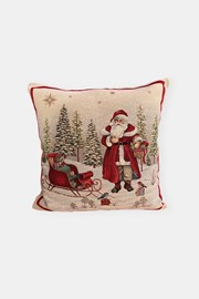 Gobelínový povlak na polštář Santa