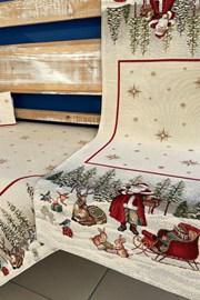 Gobelínový ubrus Santa