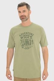 Zelené tričko Bushman Sims