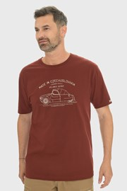 Vínové tričko Bushman Bobstock