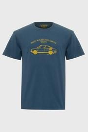 Modré tričko Bushman Bobstock