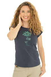 Dámské modré tričko Bushman Natalie