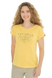 Dámské žluté tričko Bushman Kira