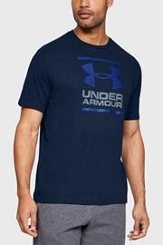 Under Armour Foundation sötétkék férfi póló