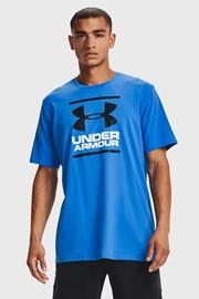 Modré tričko Under Armour Foundation
