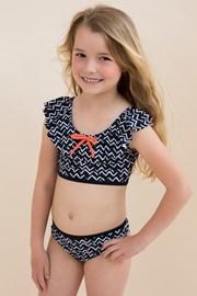 Dívčí dvoudílné plavky Zig Zag