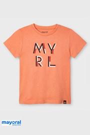 Dětské tričko Mayoral Apricot