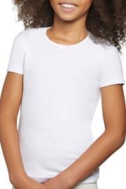 Dívčí bavlněné tričko Simple