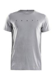 Pánské triko CRAFT Deft šedé