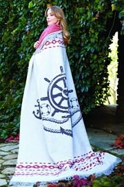 Luxusní bavlněná deka Marine