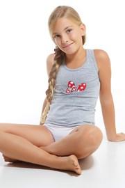 Dívčí komplet kalhotek a tílka Minnie