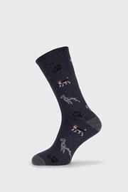 Modré ponožky Fantasy