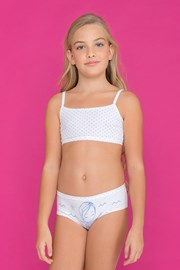 SET fetite Fairy Blue, chilot si top