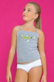 Dívčí komplet kalhotek a tílka Smile