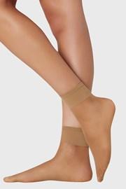 2 PACK dámských punčochových ponožek 10 DEN