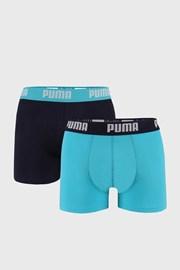 2 PACK modrých boxerek Puma Basic