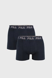 2 PACK tmavě modrých boxerek var.II FILA