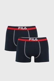 2 PACK tmavě modrých boxerek var.III FILA