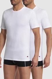 2 PACK pánských bílých triček Champion